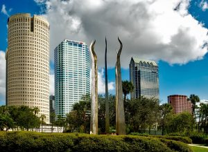 large skyscrapers in Tampa, FL